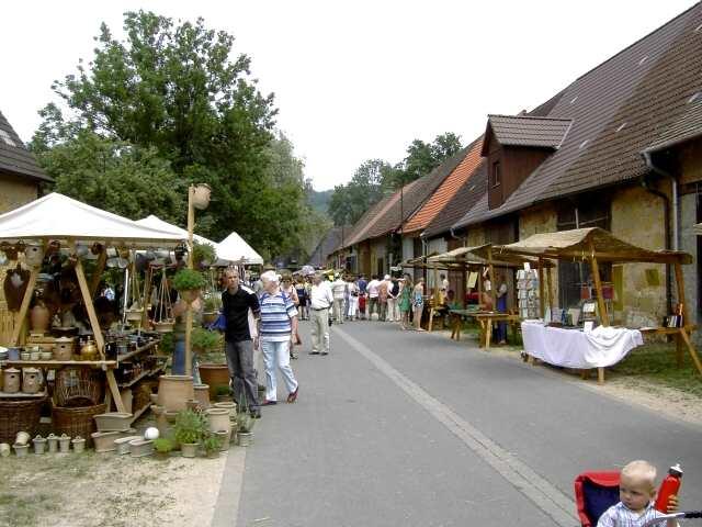 Historischer Markt im