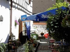 Juttas Biergarten in Hollfeld